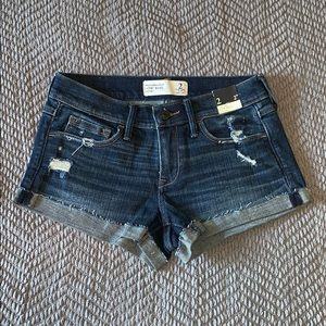 Abercrombie & Fitch Low Rise Denim Short